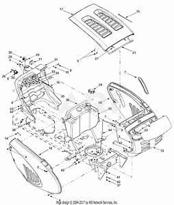 Troy Bilt 13ap609g063 Ltx1842  2003  Parts Diagram For