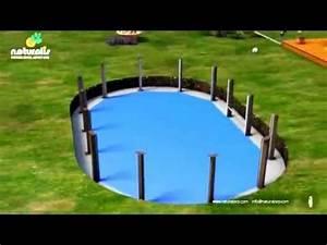 Piscine Hors Sol Acier Imitation Bois : piscine b ton imitation bois naturalis youtube ~ Dailycaller-alerts.com Idées de Décoration