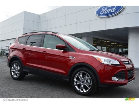 2015 ruby red metallic ford escape se 102080897
