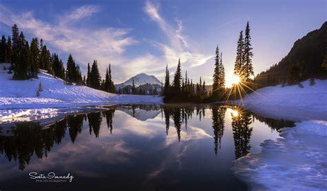 tipsoo lakechinook pass mt rainier np wa  glorious flickr