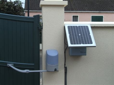 motorisation portail solaire comment choisir sa motorisation de portail maison et domotique