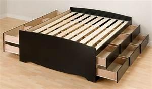 build a tall platform bed frame Online Woodworking Plans