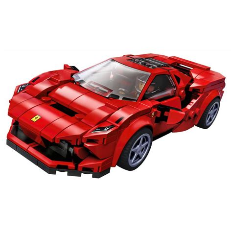 In case you missed it, toyota is set to license its cars to racing video. LEGO Speed Champions Ferrari F8 Tributo 76895 mikizabawki.pl
