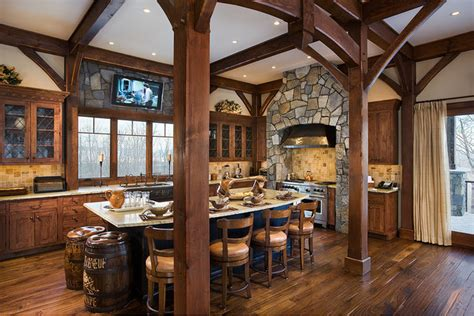 timber frame kitchen designs traditional kitchen denver  woodhouse post beam homes