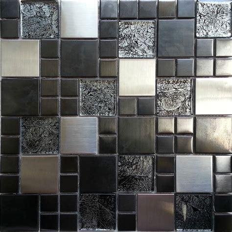 glass mosaic wall tiles kitchen metallic random mix glass mosaic wall tiles kitchen 6841