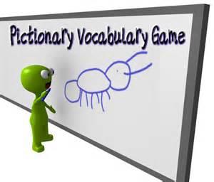 Pictionary Vocabulary Words