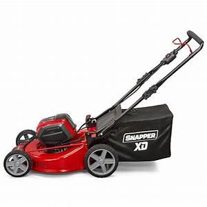 Snapper Xd Sxdwm82k 82v Cordless 21 U0026quot  Electric Mower Review