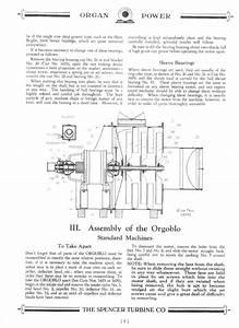 Spencer Orgoblo Owner Manual