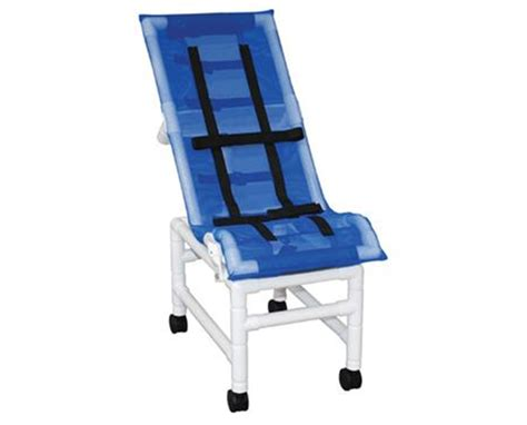 mjm 191 sc reclining pvc shower bath chair