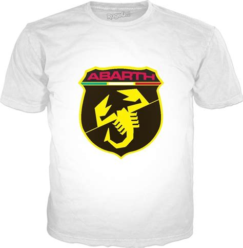 Fiat Merchandise by Abarth Logo Fiat Abarth Merchandise Logos Mens Tops