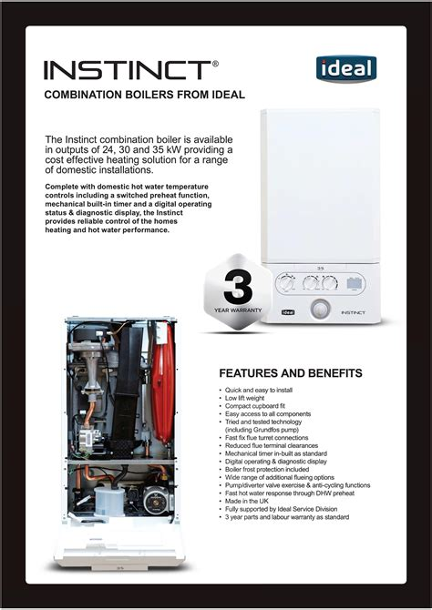 instinct combination boilers  ideal blog beggs
