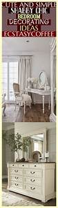 Cute, And, Simple, Shabby, Chic, Bedroom, Decorating, Ideas