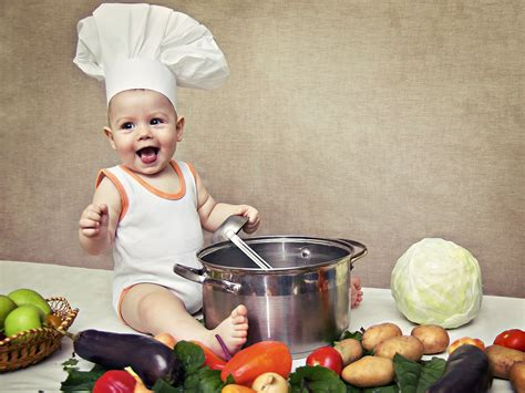 cook cuisine expert advice preparing cooking and freezing baby food