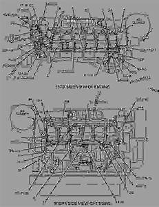 1340071 Wiring Group-engine - Engine - Marine Caterpillar 3512b