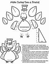 Coloring Pages Crayola Turkey Craft Thanksgiving Hat Pattern Crafts Sheets Cut Paste Glue Template Turkeys Crayons Printables Fun Colored Tom sketch template
