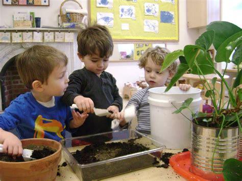bridge parents 123 | preschool planting