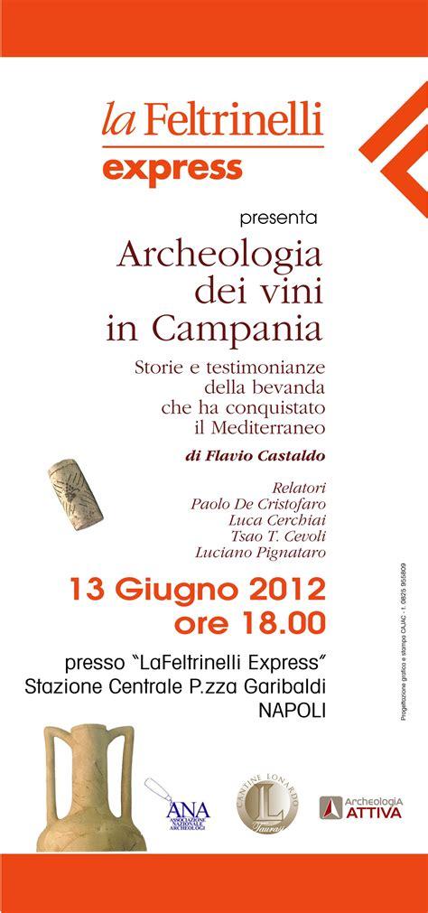 libreria feltrinelli napoli stazione centrale archeologia dei vini in cania alla feltrinelli express