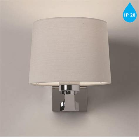 astro montclair single ip20 wall light polished chrome 7474 from easy lighting