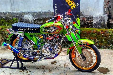 Modifikasi Gl 100 Racing by Modifikasi Motor Cb 100 Racing Kumpulan Gambar Foto