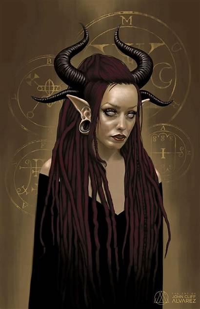 Lilith Mother Artwork John Alvarez Artstation