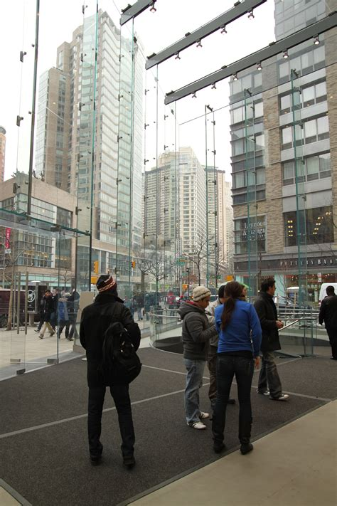 Maybe you would like to learn more about one of these? Apple Store, Upper West Side   Glass blocks, Street view ...