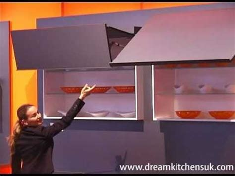 Blum Aventos   Lift up Wall Unit Doors   YouTube