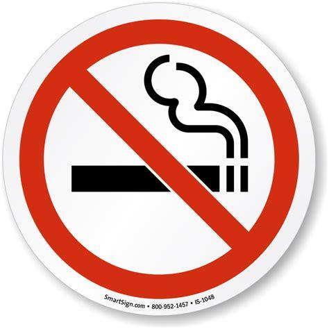 No Smoking Symbol Sign, SKU: IS-1048 - MySafetySign.com