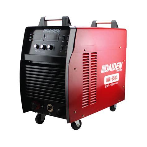 daiden welding inverter machine mesin las mig 350