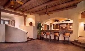 SANTA FE STYLE HOME Oro Valley, AZ. LOT 77 - Contemporary ...