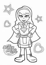 Coloring Supergirl Dc Superhero Pages Lego Super Hero Printable Sheets Cartoon Disney Teen Elves Version A4 Categories Adult Villain Sketch sketch template