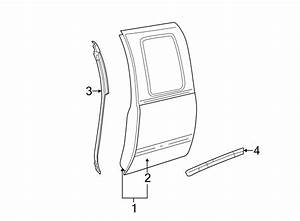 Chevrolet Silverado 1500 Door Seal  Front  Rear  Lower
