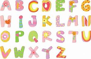 17 best images about letters on pinterest alphabet With pastel letters