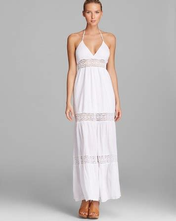 maxi swim cover up surf gypsy crochet maxi swim cover up dress bloomingdale s