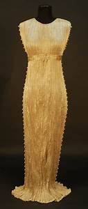 451 fortuny delphos gown with original box c 1920 c With robe delphos fortuny