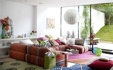 Living Room Colorful Living Room Makes You Playful