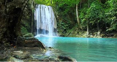 Waterfall Exotic Nature Rainforest Amazing Falls Jooinn