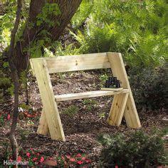 build  wooden bench   beginner woodworking