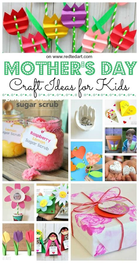 easy mothers day crafts  kids   mothers day