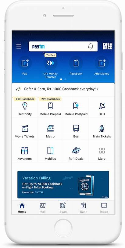 Paytm App Account Icon Bank Score Opening