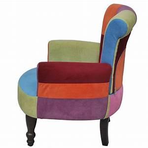 La boutique en ligne fauteuil avec accoudoirs design for Fauteuil multicolore design