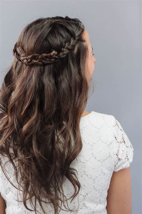 How To: Braided Wedding Hair for Beginners   A Practical