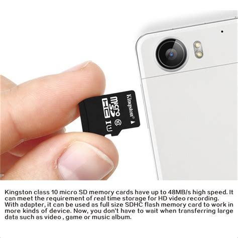 kingston micro sd microsdhc class  sdcgb  class