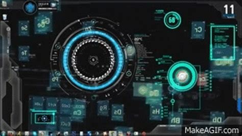 How To Make Animated Wallpaper - iron jarvis 1 0 animated background desktop on make