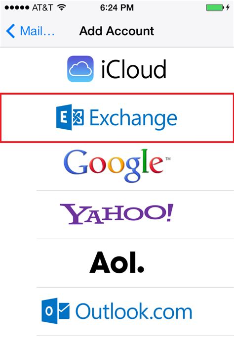 exchange email on iphone manually configure ios devices for email hosted on