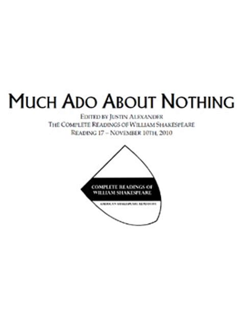much ado about nothing modern script much ado about nothing script american shakespeare repertory