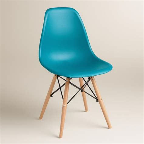pagoda blue evie molded dining chairs set of 2