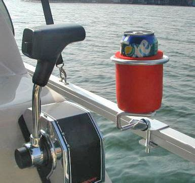Pontoon Boat Rail Cup Holders by Cup Holders Get Nautical With A New Bennington Pontoon