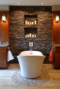 25 amazing stone accent walls for Amazing options for accent wall ideas