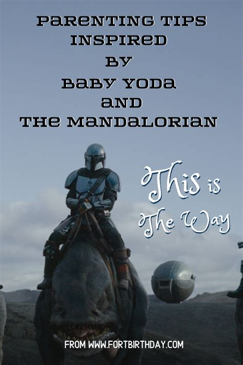 Parenting Truths inspired by Baby Yoda and The Mandalorian ...