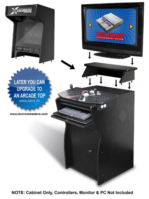 xtension arcade cabinet uk xtension pedestal arcade cabinet for x arcade tankstick ebay